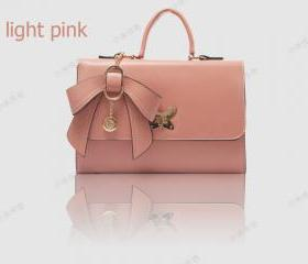 New style bow portable shoulder bag handbags