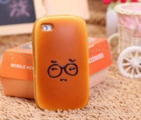 Unique SuperCute Sponge Bread Cover For Iphone 4/4s